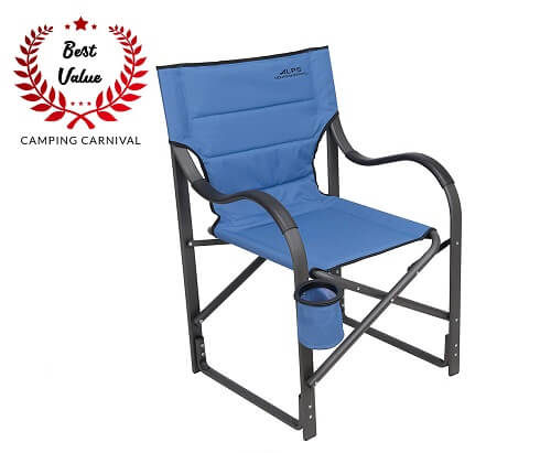 2. Foldable Camping Chair for Bad Backs From ALPS