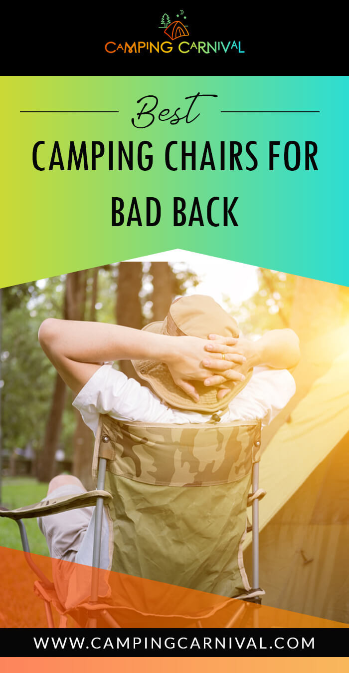 Camping Chairs For bad Back