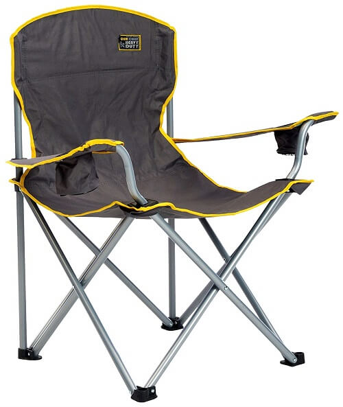 4. Quick Chair Heavy Duty Folding Camp Chair