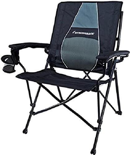 4. STRONGBACK Elite Folding Camping Chair for Bad Backs