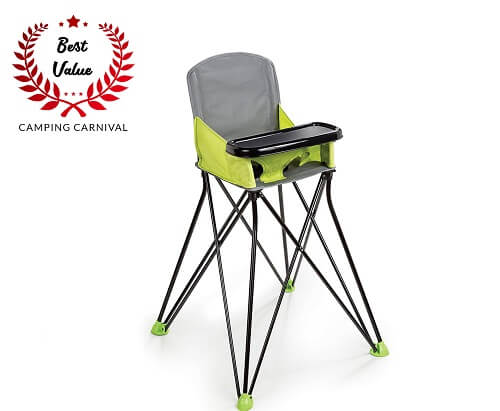 2. Summer Infant Pop and Sit Portable Highchair