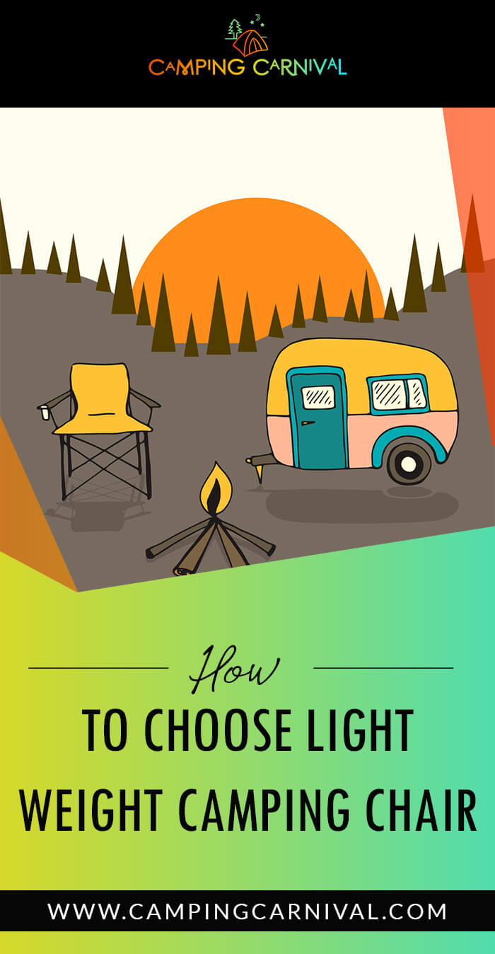 Light Weight Camping Chair buying guide