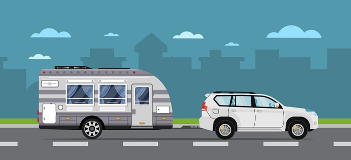 How the weight of the camper has an impact on travel