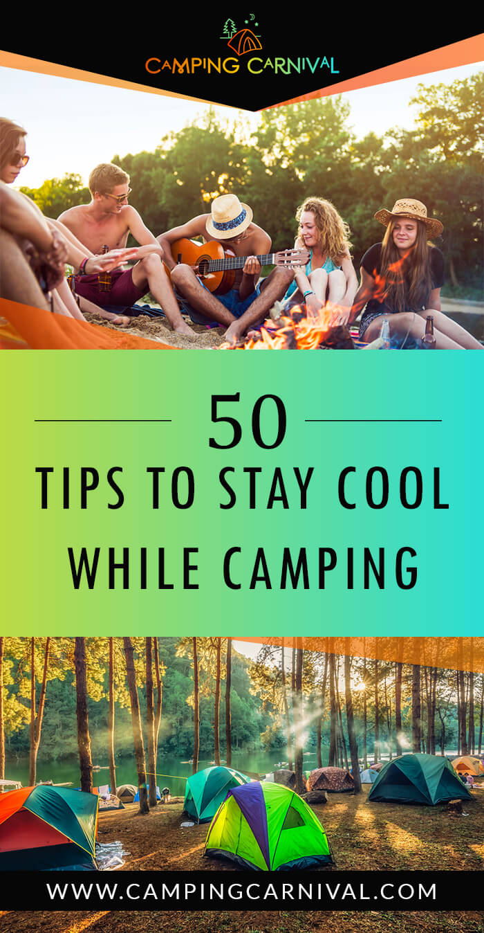 Tips To Stay Cool While Camping