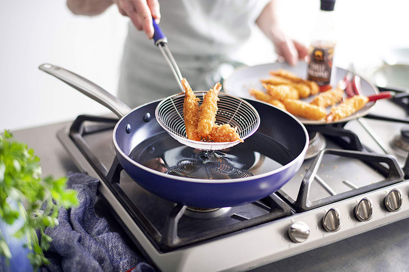 blue diamond cookware