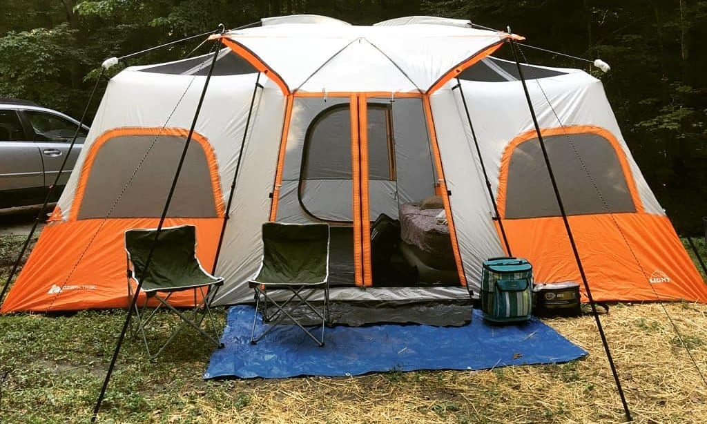 easiest tent to set up