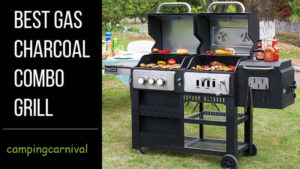charcoal gas grill combo